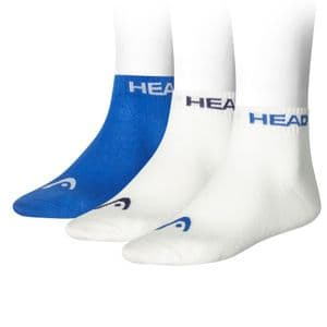 HEAD Unisex Quarter Socks 3P